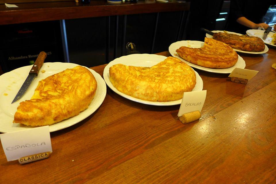 Jordi Bar de Tapas Tortilla patatas